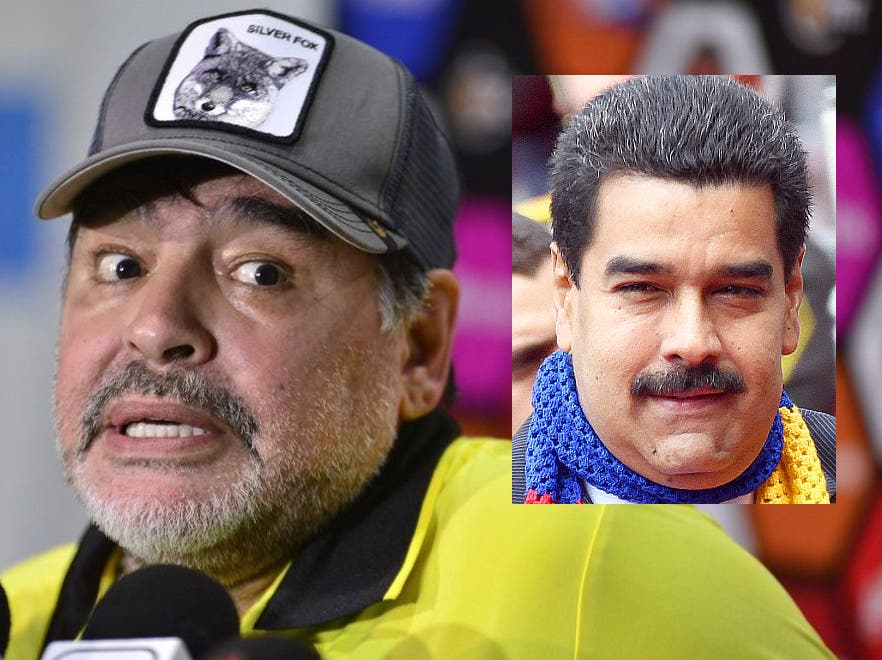 """Las grabaciones secretas a Maradona donde habla de """"pagos en oro"""" del régimen de Maduro"""