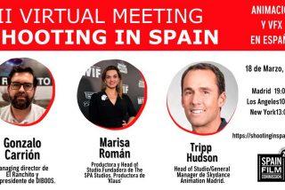 Ciudad de Madrid Film Office apoya el encuentro virtual 'Animación y VFX en España'
