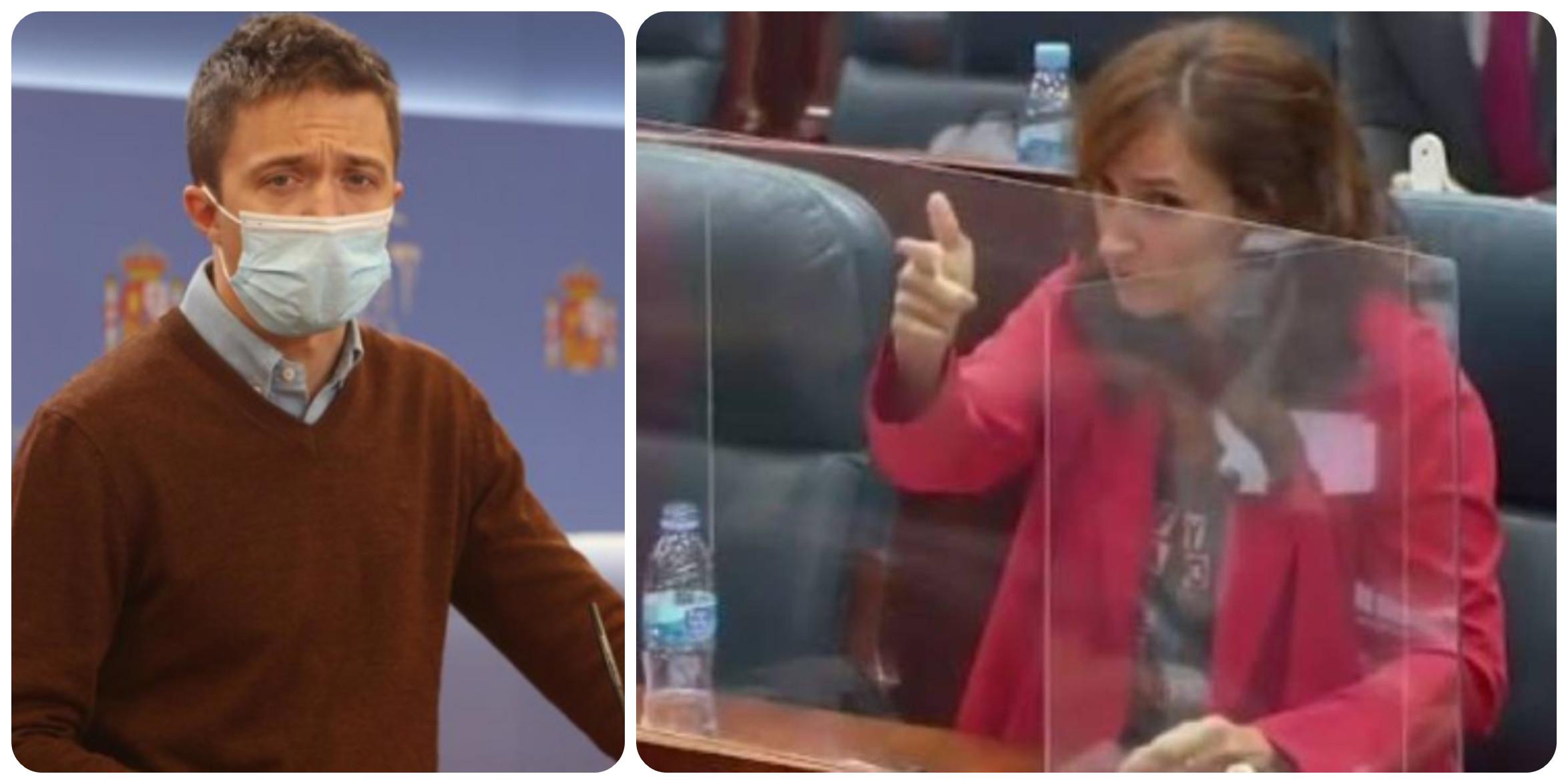 Twitter espabila a Errejón por esconder en los medios a su candidata 'pistolera' en Madrid