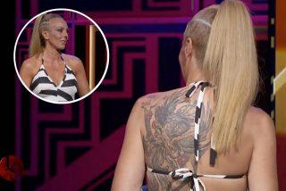 ¿Sabes qué significa el enorme tatuaje que Rocío Carrasco lleva en su espalda?