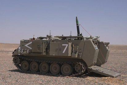 """Israel presenta una munición de mortero, guiada por láser y GPS, que """"revoluciona la guerra en tierra"""""""