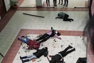 Tragedia en Bolivia: mueren 7 universitarios al romperse la barandilla y caer de un cuarto piso