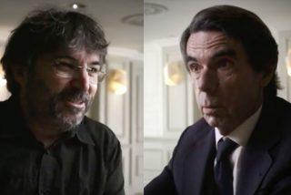 La memez de Évole cuando Aznar le recuerda lo que dijo su jefe Ferreras el 11-M