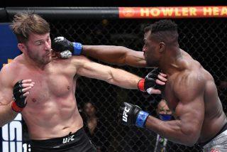 UFC: Ngannou noquea a Miocic con un gancho y se corona como nuevo campeón de peso pesado