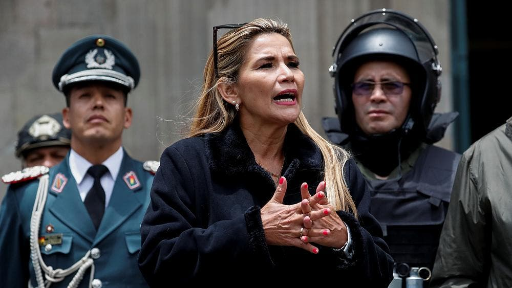 EEUU observa con 'preocupación' las detenciones de Jeanine Áñez y cinco ministros de su gabinete en Bolivia
