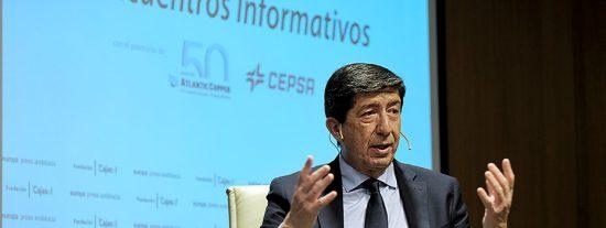 """Juan Marín: """"El Gobierno de España no entiende ni lo qué es el turismo ni cuándo hay que callarse la boca"""""""