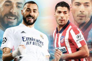 Un flojo Real Madrid sobrevive en un derby donde el Atlético lo tuvo a huevo