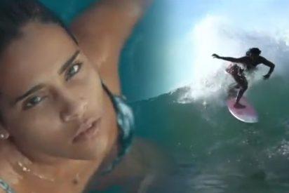 Muere fulminada por un rayo Katy Díaz, campeona salvadoreña de surf