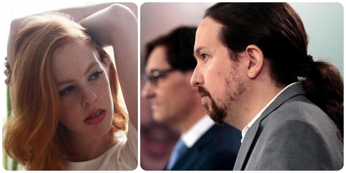 Pataleta de Lilith Verstrynge contra los periodistas por los rumores de su 'affaire' con Iglesias