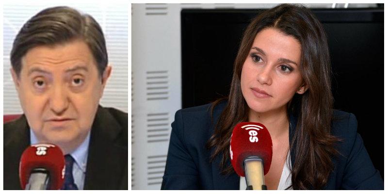 """Losantos: """"Ciudadanos ya es solo una gestoría arrimada a 'fraudez' Sánchez y a la marquesa de Igualdad"""""""