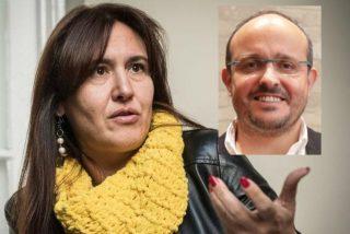 Alejandro Fernández (PP) desenmascara a la independentista y 'oprimida' Laura Borrás (JxCat)