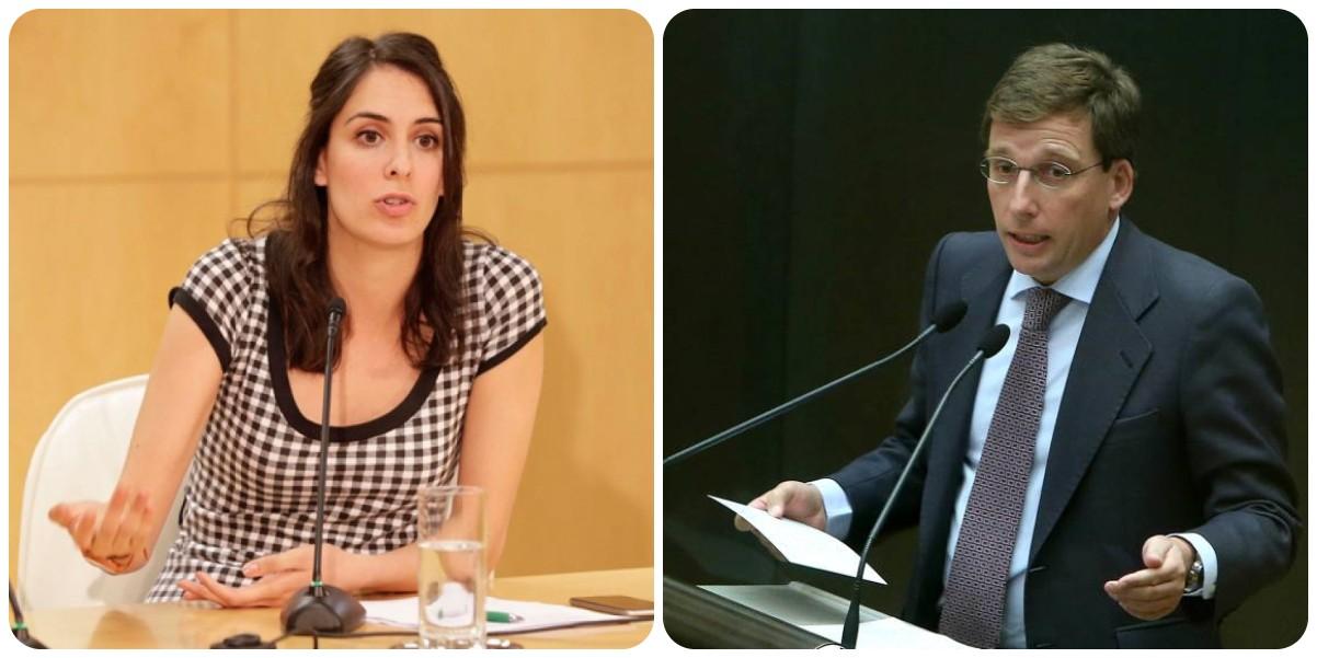 Rita Maestre acusa a Almeida de convertir Madrid en el Magaluf europeo y la réplica del alcalde es gloriosa
