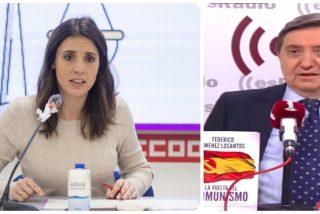 """Losantos, a Irene Montero: """"¿Cómo sigues en un Gobierno que criminaliza el feminismo? ¡Dimite!"""""""