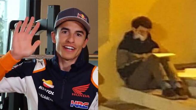 El detalle de Marc Márquez con el repartidor que estudiaba bajo una farola soñando con ser mecánico de MotoGP