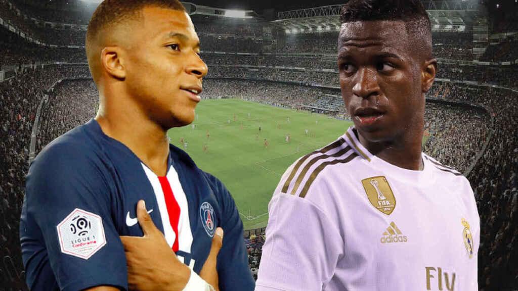 Operación Mbappé: el PSG le pedirá al Real Madrid 250 millones y a Vinicius
