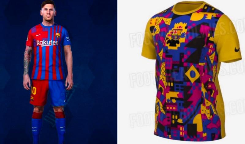 Filtran la nueva camiseta del Barça y el cachondeo en redes sociales es de Champions
