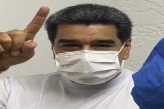 El dictador Maduro se salta la cola y se vacuna el primero contra el coronavirus en la Venezuela chavista