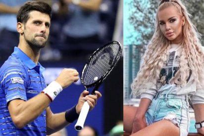 Contratan a esta modelo para que seduzca sexualmente a Djokovic y arruinar así su matrimonio y su carrera