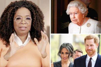 Oprah Winfrey puntualiza que la Reina Isabel II no hizo un comentario racista sobre el hijo de Meghan y Harry