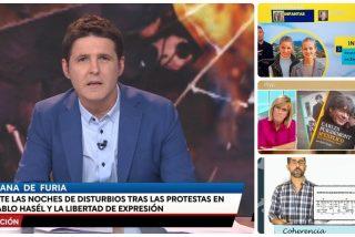 El 'top 5' de dislates de TVE: de los ataques a la Corona a las contorsiones de Cintora