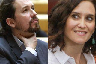 Madrid: el rechazo que provoca Pablo Iglesias catapulta a Isabel Ayuso hacia la presidencia