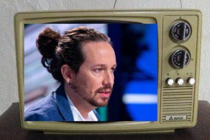 El 'insultador' Iglesias arranca la campaña en TVE, llamando 'delincuente' a Ayuso y 'mentiroso' a Sánchez