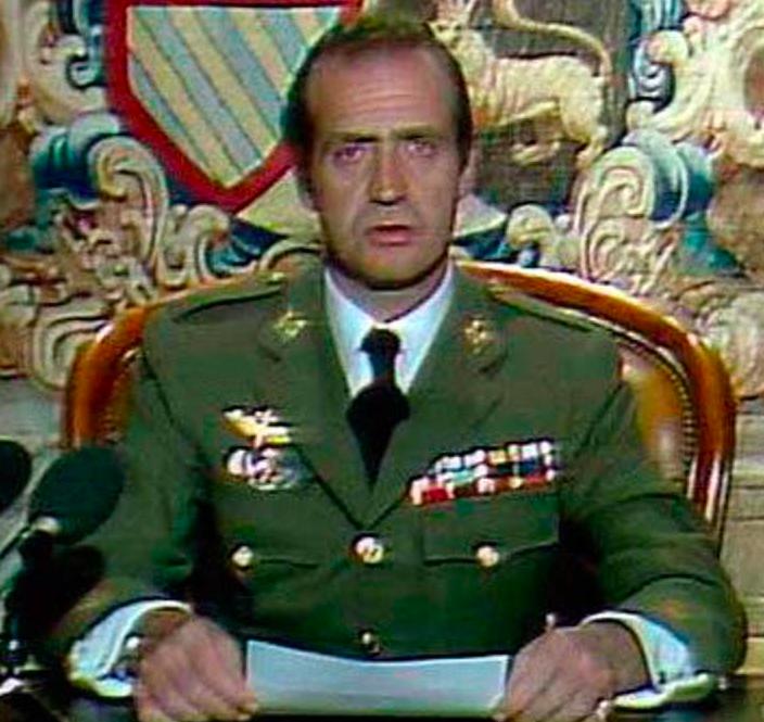 Rey Juan Carlos 23F