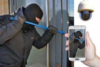 """""""¡Están robando! ¡A por ellos!"""": los vecinos ponen en fuga a los ladrones de la tienda de móviles"""