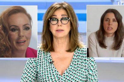 """Ana Rosa sacude a Irene Montero por 'bocachancla': """"Es una ministra tertuliana que se salta la presunción de inocencia"""""""
