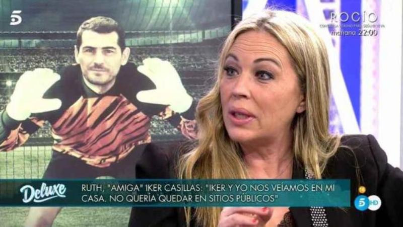 Sacan en 'Sábado Deluxe' a una supuesta amante de Iker Casillas, que lo pone a caer de un burro