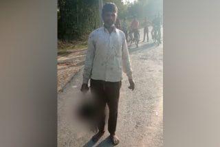 El tipo decapita a su hija de 18 años y se presenta con su cabeza en la Comisaría de Policía