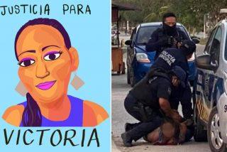 La muerte de una salvadoreña, arrestada por policías de manera similar a George Floyd, conmociona México