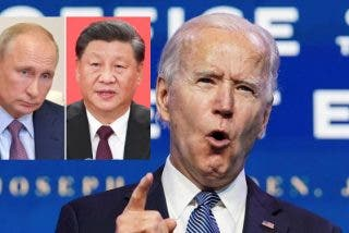 """Joe Biden: """"Xi Jinping y Putin no creen en la democracia, ni que puede funcionar en un mundo complejo"""""""