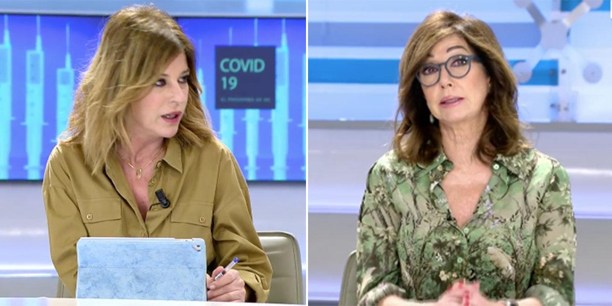 Esther Palomera se pone brusca con Ana Rosa para defender los chanchullos del Gobierno con los fondos europeos