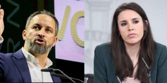 """Santi Abascal acribilla a Irene Montero: """"Es una ministra adicta a la telebasura"""""""