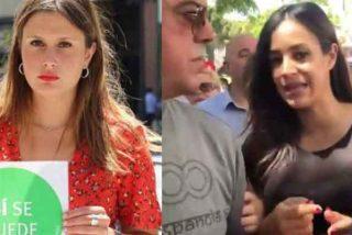 Iglesias ficha a la 'activista antidesahucios' que hizo un escrache a Villacís embarazada de 9 meses
