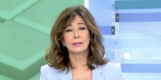 """Ana Rosa Quintana responde a Pablo Iglesias: """"Señalar periodistas es cobarde y totalitario"""""""