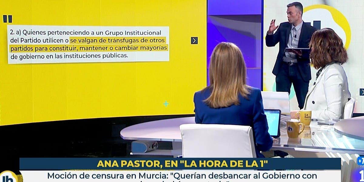 "Ana Pastor (PP) masacra al segundo de Mónica López en TVE: ""Usted se está posicionando, no me está preguntando"""