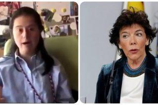 La hija del diputado del PP al que Celaá ninguneó por defender la educación especial pulveriza a la ministra