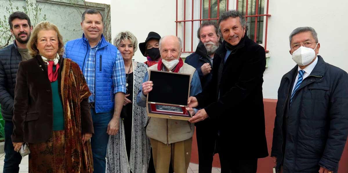 Madrid: Rinden homenaje al pintor y escultor Antonio López