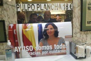 Los bares de Madrid se movilizan en favor de Ayuso (PP) y la izquierda rabia exigiendo el boicot a esos locales