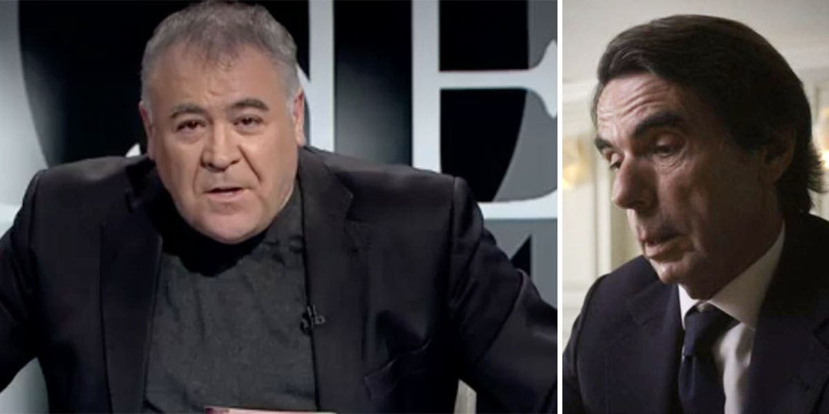 """Ferreras rabia de lo lindo con Aznar y le insulta sin parar: """"¡Es un mentiroso que miente como un bellaco!"""""""
