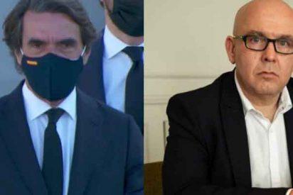 """Aznar no se achanta con Boye: """"Me pongo la mascarilla porque yo sigo las recomendaciones sanitarias"""""""