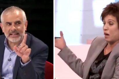 """Carrizosa coge de la solapa a Talegón por reprocharle usar el castellano en TV3: """"Yo hablo como me da la gana"""""""