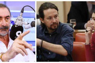 Carlos Herrera 'revienta' la pareja Iglesias-Montero: letal mensaje en directo a Lilith Verstrynge