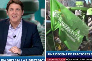 """Una agricultora revienta la emisión del programa de Cintora: """"¡El Gobierno nos tiene de lado!"""""""