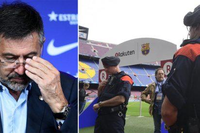 Josep María Bartomeu, detenido por los Mossos por el 'Barçagate'