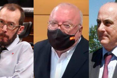 Echenique enloquece por la libertad provisional de Villarejo: retoma los ataques contra el juez García Castellón