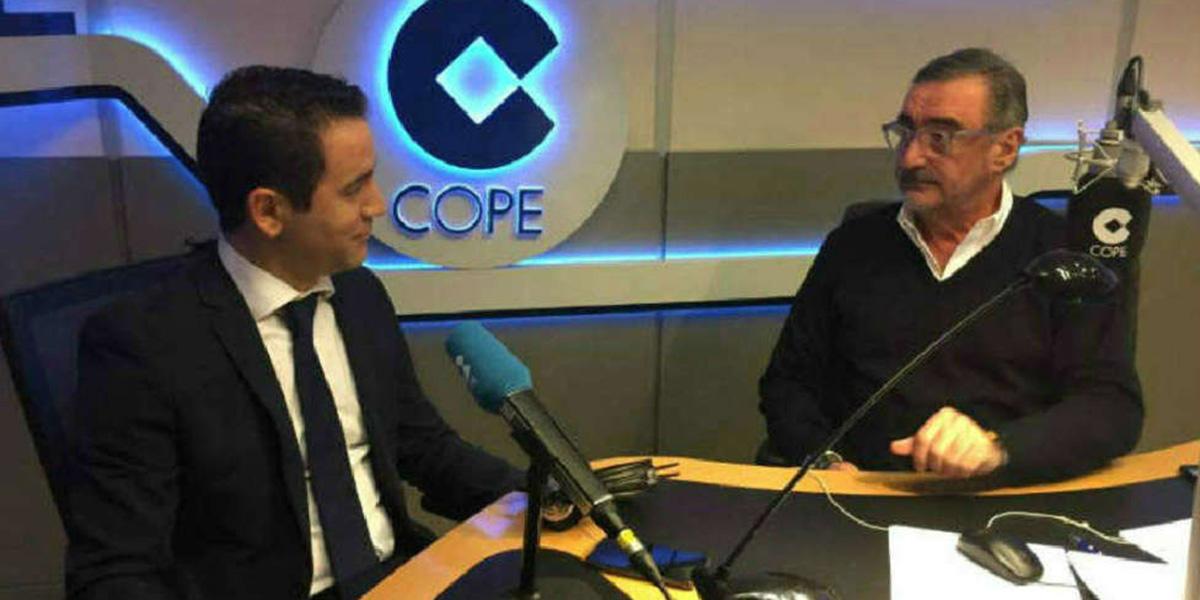 García Egea confiesa a Herrera que existe el riesgo de que la izquierda termine gobernando Madrid