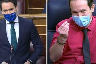 """García Egea silencia las acusaciones de Iglesias: """"Nosotros no necesitamos ni robar tarjetas SIM ni poner periódicos"""""""